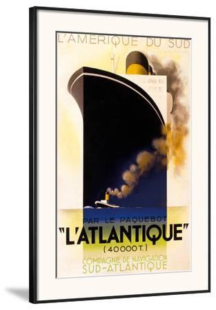 L'Atlantique 1931 by Adolphe Mouron Cassandre