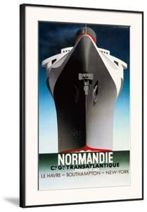 Normandie 1935 by Adolphe Mouron Cassandre