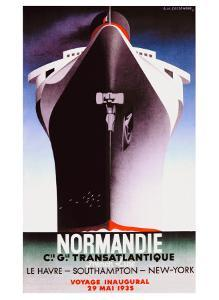 Normandie by Adolphe Mouron Cassandre
