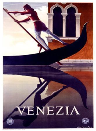 Venezia by Adolphe Mouron Cassandre