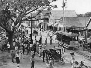 Jubilee Market Square, Kingston, Jamaica, C1905 by Adolphe & Son Duperly