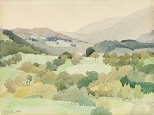 Near Ambleside, 1916 by Adolphe Valette
