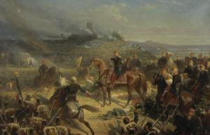 Bataille de Solférino, 24 juin 1859 by Adolphe Yvon