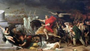 Caesar, 1875 by Adolphe Yvon