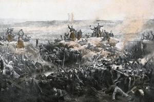 Taking of Malakoff by the French Army, 1855 by Adolphe Yvon