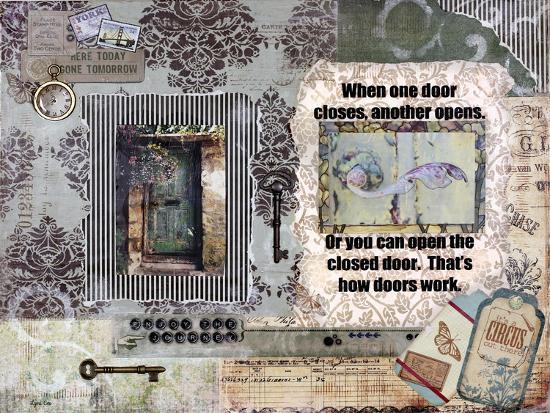 Adoor Me-Let Your Art Soar-Giclee Print