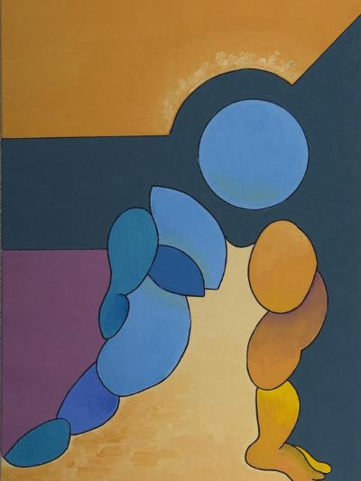 Adoration, 2008-Jan Groneberg-Giclee Print