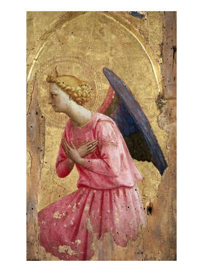 Adoration of an Angel-Fra Angelico-Giclee Print