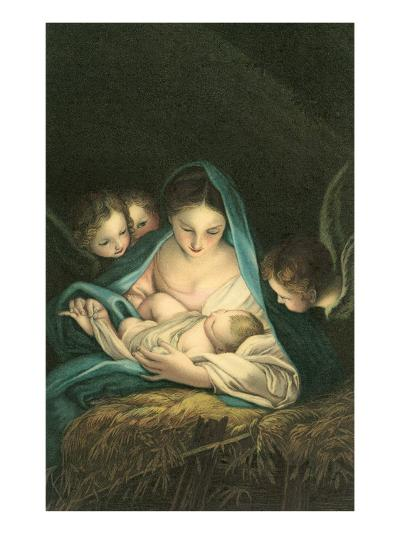 Adoration of Angels--Art Print