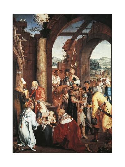 Adoration of Magi, 1511-Hans Von Kulmbach-Giclee Print