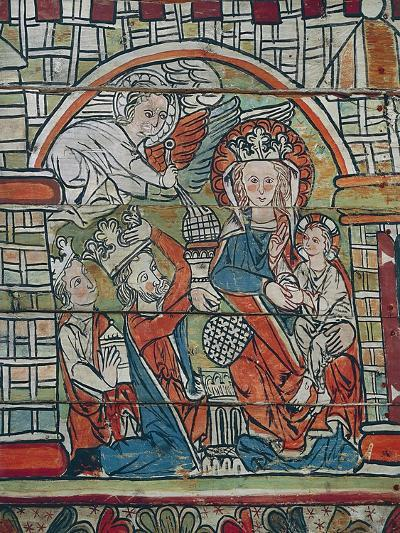 Adoration of Magi, Late 13th Century, Norway--Giclee Print