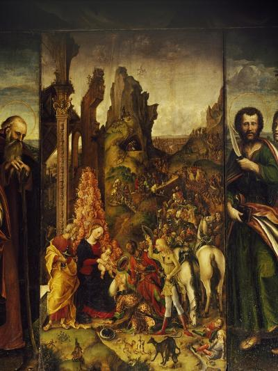 Adoration of Magi-Liberale da Verona-Giclee Print