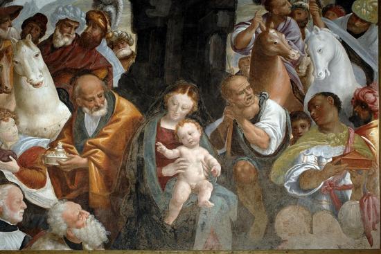Adoration of Magi--Giclee Print