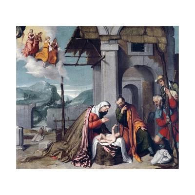 Adoration of Shepherds by Giovanni Battista Moroni--Giclee Print