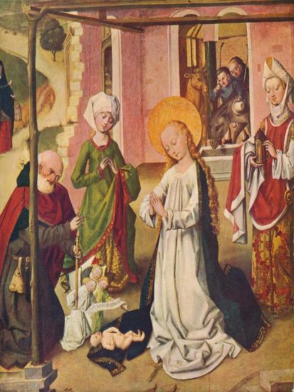 Adoration of the Child, C1480--Giclee Print