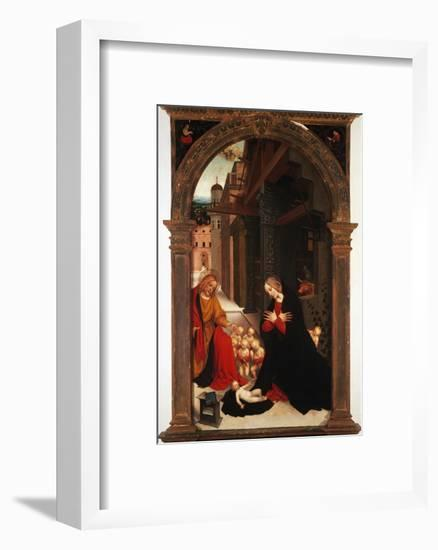 Adoration of the Child-Gerolamo Giovenone-Framed Giclee Print