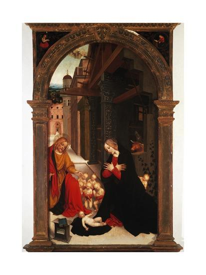 Adoration of the Child-Gerolamo Giovenone-Giclee Print