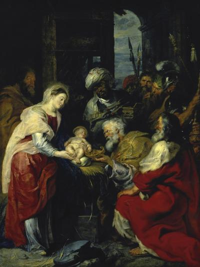 Adoration of the Kings, 17th century-Peter Paul Rubens-Giclee Print