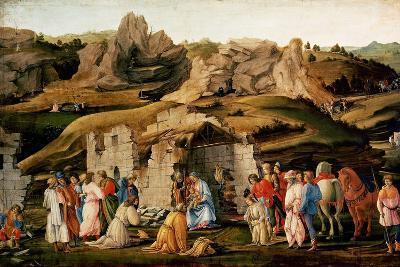 Adoration of the Kings, C. 1480-Filippino Lippi-Giclee Print