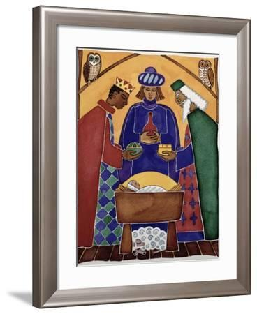 Adoration of the Kings-Cathy Baxter-Framed Giclee Print