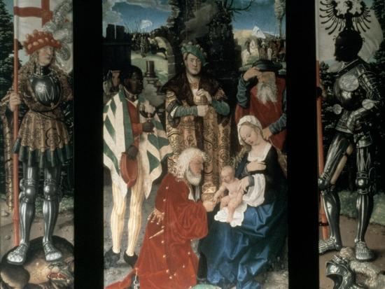 Adoration of the Magi, 1507-Hans Baldung-Giclee Print