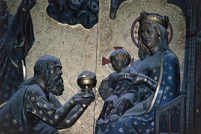 Adoration of the Magi, Bas-Relief on the Choir with Stories from the Life of Christ-Jean Ravy-Giclee Print