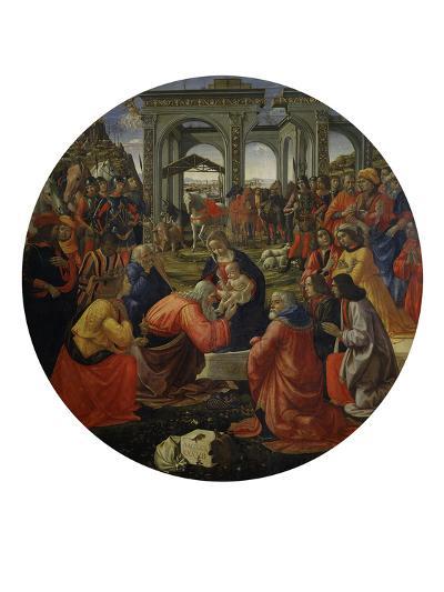 Adoration of the Magi C.1487-Ridolfo Ghirlandaio-Giclee Print