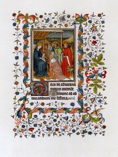 Adoration of the Magi, C1420--Giclee Print