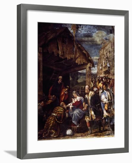 Adoration of the Magi, Ca. 1530--Framed Giclee Print