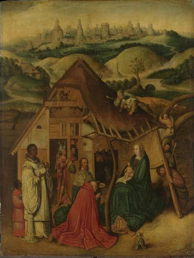 Adoration of the Magi, early 17th century-Hieronymus Bosch-Giclee Print