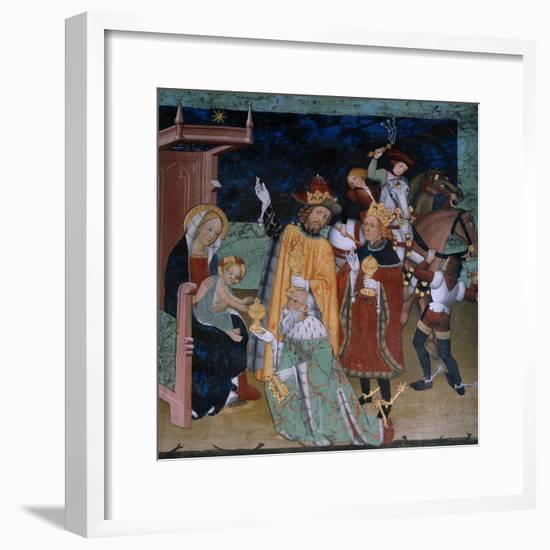 Adoration of the Magi--Framed Giclee Print