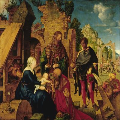 Adoration of the Magi-Albrecht D?rer-Giclee Print