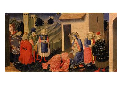 Adoration of the Magi-Fra Angelico-Giclee Print