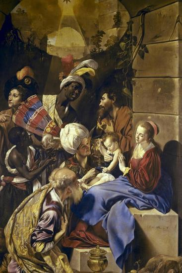 Adoration of the Magi-Juan Bautista Maino-Art Print
