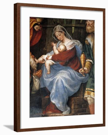 Adoration of the Magi--Framed Giclee Print