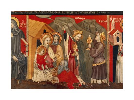 Adoration of the Magi--Giclee Print