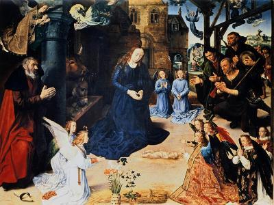 Adoration of the Shepherd, 1476-1479-Hugo van der Goes-Giclee Print