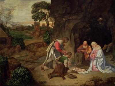 Adoration of the Shepherds, 1510-Giorgione-Giclee Print