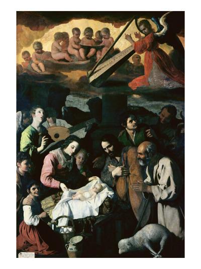 Adoration of the Shepherds, 1638-Francisco de Zurbar?n-Giclee Print