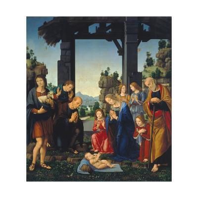 Adoration of the Shepherds, C. 1500-10-Lorenzo di Credi-Giclee Print