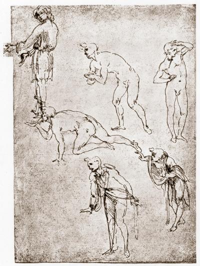 Adoration of the Shepherds, C1478-1480-Leonardo da Vinci-Giclee Print