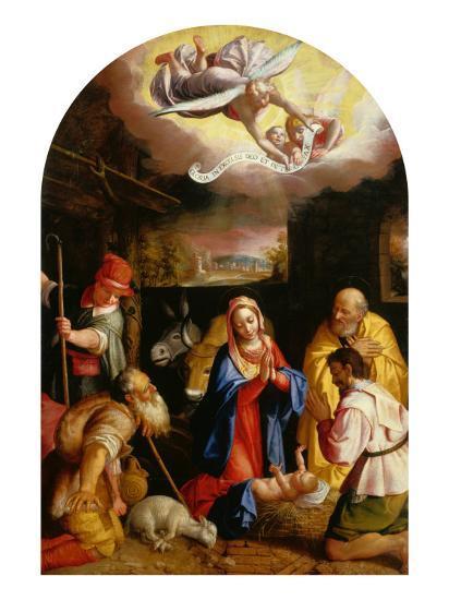 Adoration of the Shepherds-Durante Alberti-Giclee Print