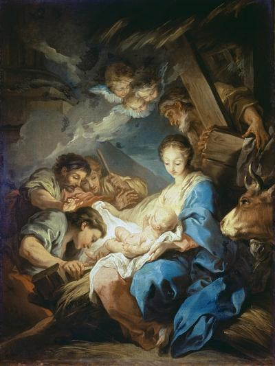 Adoration of the Shepherds-Charles André van Loo-Giclee Print