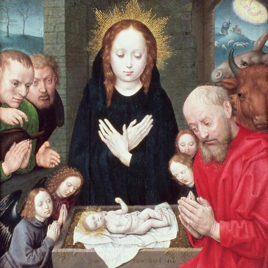Adoration of the Shepherds-Hugo van der Goes-Giclee Print