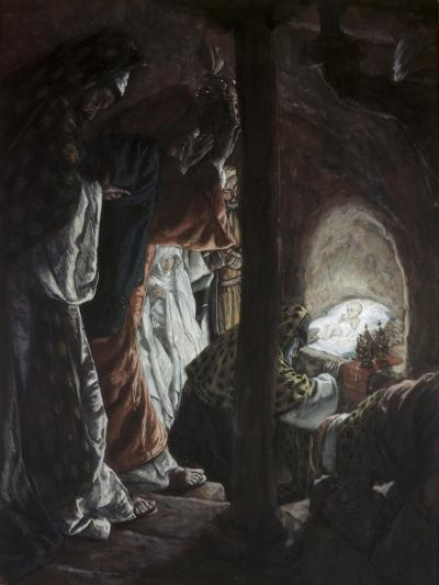 Adoration of the Wise Men-James Tissot-Giclee Print