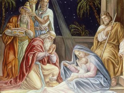 Adoration of the Wise Men-Julius Schnorr von Carolsfeld-Giclee Print