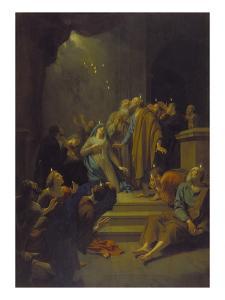 Die Ausgiessung des Hl.Geistes, 1711 by Adriaan van der Werff