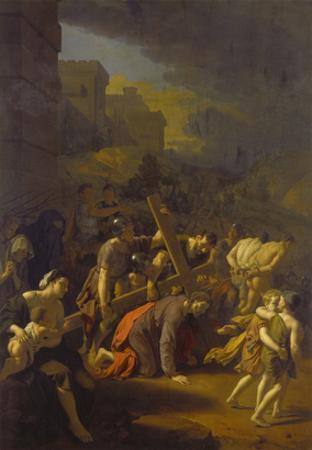 Die Kreuztragung Christi by Adriaan van der Werff