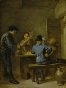 A Tavern by Adriaen Brouwer