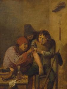 Das Gefuehl, um 1635 by Adriaen Brouwer